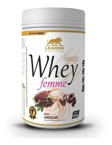 Whey Ômega Femme (450g) Leader Nutrition