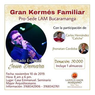 Boletas Bucaramanga Jesse Demara Concierto Música Católica
