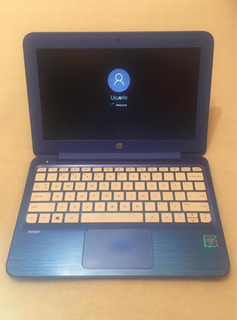 Notebook Hp Stream Azul