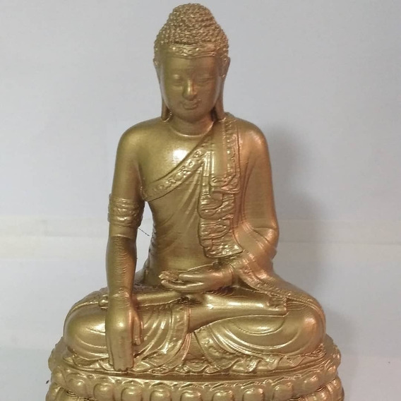 Buda Tailandes Decoração 12cm - Impressão 3d X10