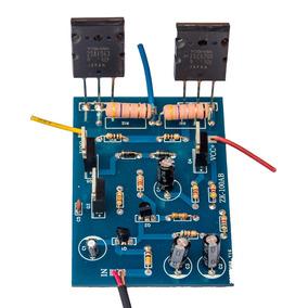 Placa Amplificador 100w Rms Com 2sc5200 E 2sa1943