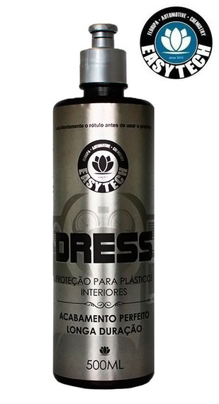 Easytech Dress Revitalisador Painel Plásticos Couro 500ml