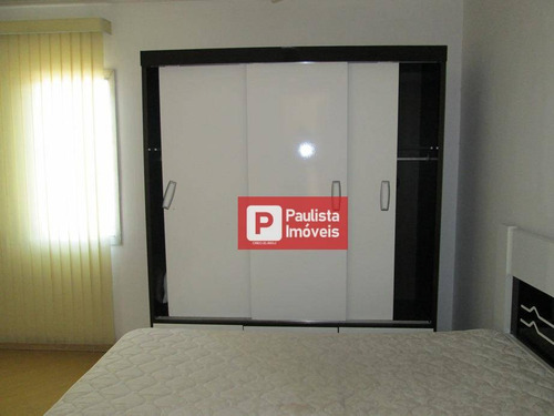 Apartamento Para Alugar, 33 M² Por R$ 1.600,00/mês - Moema - São Paulo/sp - Ap12305