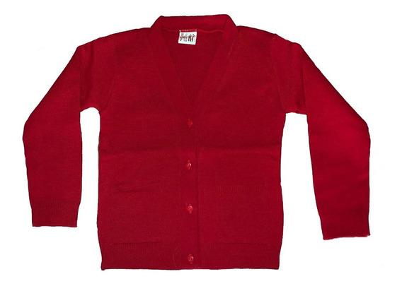Suéter Escolar Botones Varios Colores Niña