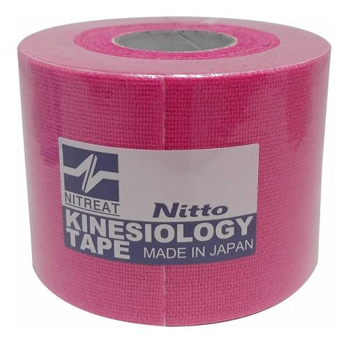 Imagem 1 de 1 de Kinesio Tape Fita Bandagem Elástica Adesiva 1 Unid 5cm X 5m