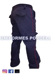 Pantalon De Bombero Ripstop Antidesgarro