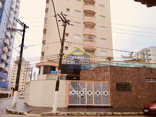 Apto. 3 Dorms, Aviação, Praia Grande - R$ 380 Mil - Vact246