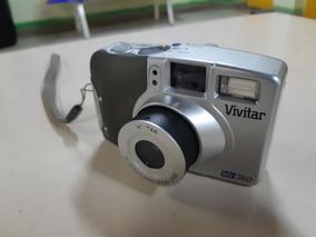 Câmera Analógica Máquina Fotográfica Vivitar Mv360 Kodak