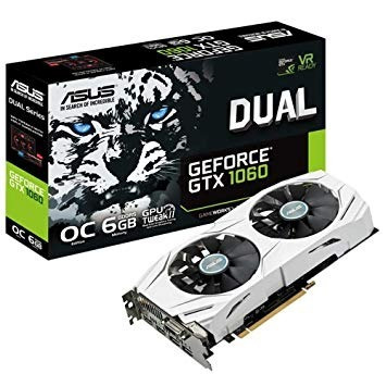 Tarjeta De Video Nvidia Asus Geforce Gtx 1060 Ddr5 6gb