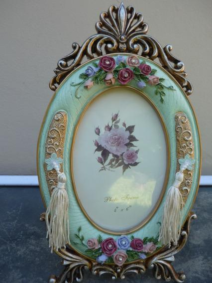 Porta Retratos Importados Estilo Retro Madeira 25cm X 15cm