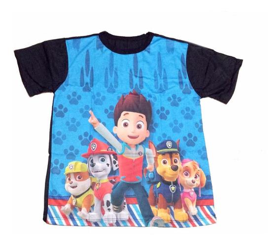 Camiseta Temática Infantil Patrulha Canina