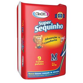 Fralda Infantil Clin Off C/9 Super Sequinho Md