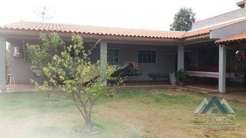 Chácara Com 3 Dormitórios À Venda, 462 M² Por R$ 220.000,00 - Centro - Primeiro De Maio/pr - Ch0075