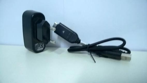 Carregador Para Câmera Samsung Modelo Sac-48 Com Cabo Usb