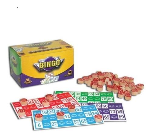 Bingo Bisonte Clasico Original - 96 Cartones