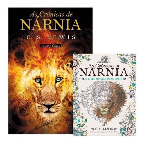 As Crônicas De Nárnia - Volume Único + Livro De Colorir