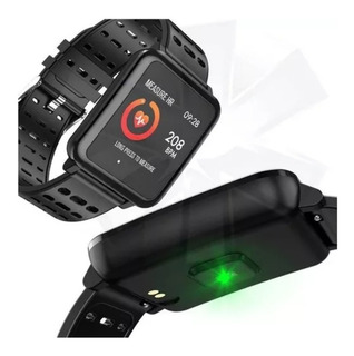 Relógio Smartwatch Bluetooth Android Ios Touch Screen Monito