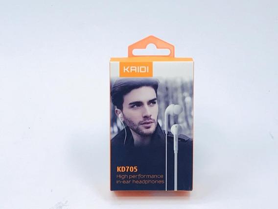 Fone De Ouvido Smartphone P2 In-ear Kd705 - F3002