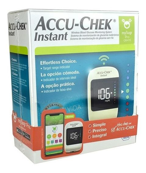 Accu Chek Instant Kit Glucometro