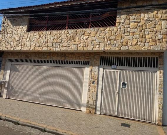 Sobrado Para Venda Em Guarulhos, Jardim Santa Clara, 4 Dormitórios, 2 Suítes, 3 Banheiros, 4 Vagas - Sb0904
