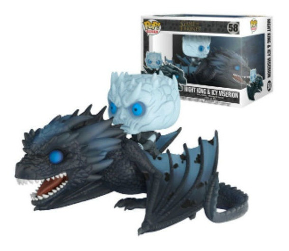 Funko Pop! Night King & Icy Viserion 58