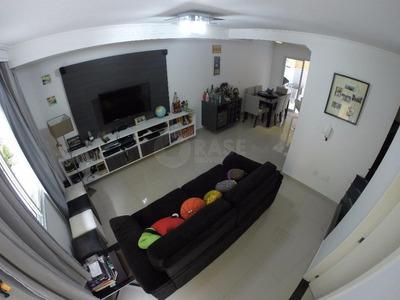 Linda Casa Em Condomínio Fechado Com 3 Domitórios E 1 Suíte E 2 Vagas No Campo Grande - Codigo: Ca0035 - Ca0035