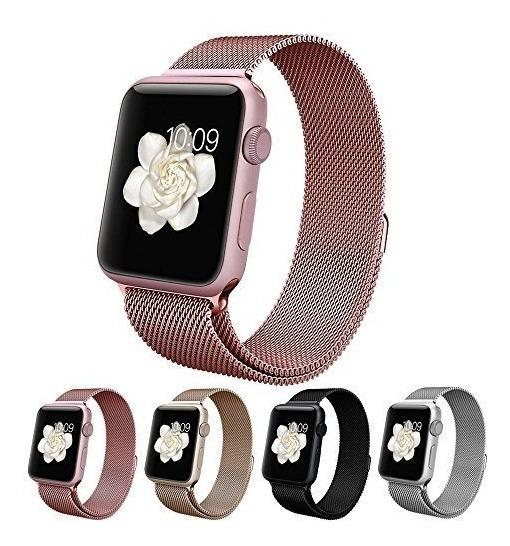 Extensible Correa Milanese Para Apple Watch Serie 1 2 3 4