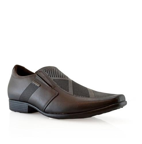 Zapatos Hombres Vestir Cuero 122866-03 Pegada Luminares