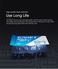 592743 Genuine Eaget Micro Sdhc / Tf Memory Ca Sob Encomenda