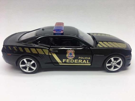 Miniatura Camaro Da Polícia Federal 2010