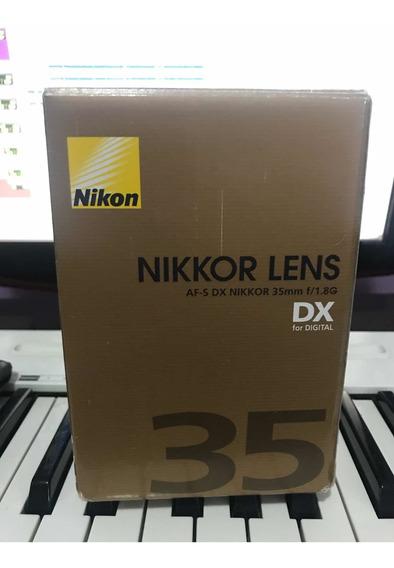 Lente Nikon 35 Mm F/1.8g