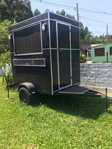 Trailer (food Truck) Para Lanches Novo!