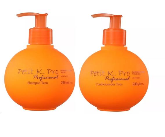 Petit Teen K.pro Shampoo E Condicionador Infantil + Brinde