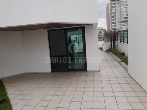 Cobertura No Coração Do Campo Belo, 4 Suítes, 4 Vagas, Com Amplo Jardim, Totalmente Reformada. - Cf29089