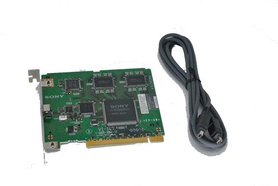 Placa Captura Sony Mini Dv Dvbk-2000 Pci