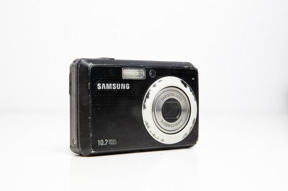 Câmera Fotográfica E Filmadora Samsung. 10.2 Mega Pixels