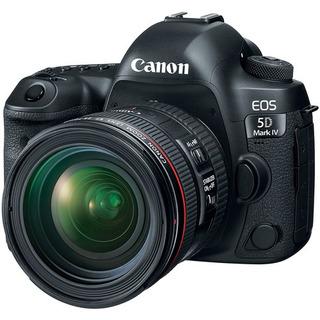 Cámara Canon Eos 5d Mark Iv Con 24-70mm F/4l Lente