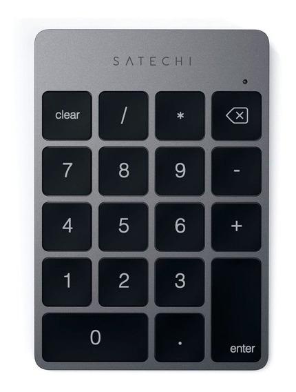 Teclado Numérico Satechi Sem Fio Recarregável P/ Macbook