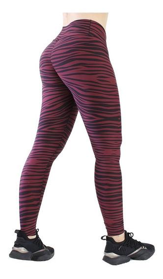 Legging Deportivo Lycra Colombiana Galasport Elite 904 Zebra