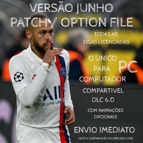 Patch Option File Pes20 P/ Pc