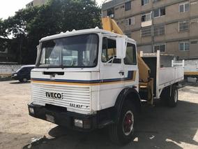 Camion Grua Con Plataforma