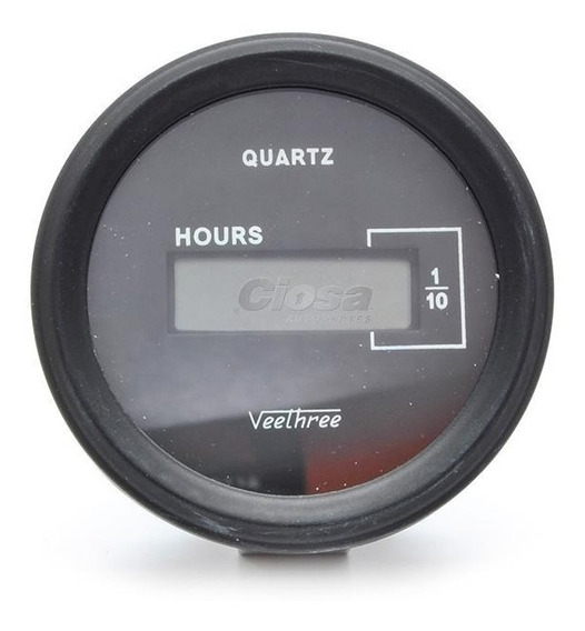 Marcador De Horas Digital (horometro) 10-28v 52mm