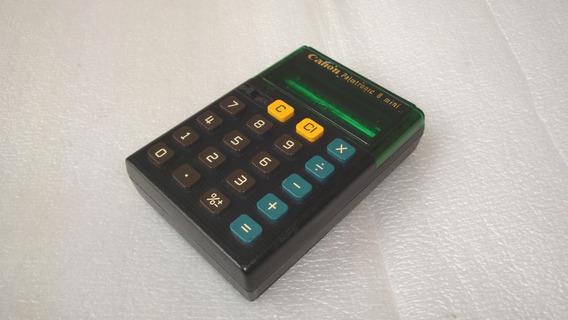Calculadora Palmtronic 8 Dig Canon - Usada E Func N Estado