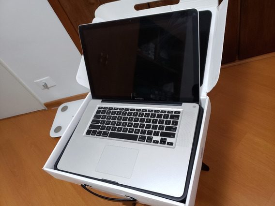 Macbook Pro 15 - 2011 - Hd 750 Gb - 8gb Ram - Tela Apagada