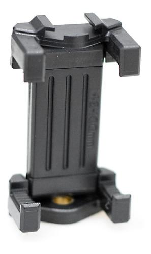 Imagen 1 de 6 de Soporte Celular Adaptador Smartphone P/ Tripode