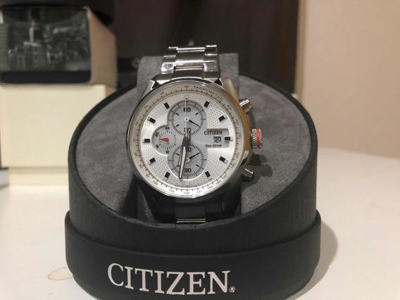 Reloj Cronógrafo Citizen Eco-drive B612 S080941 Estética 9.5