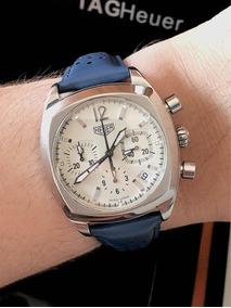 Tag Heuer Monza Re-edition Chronograph , Raro , Impecável.