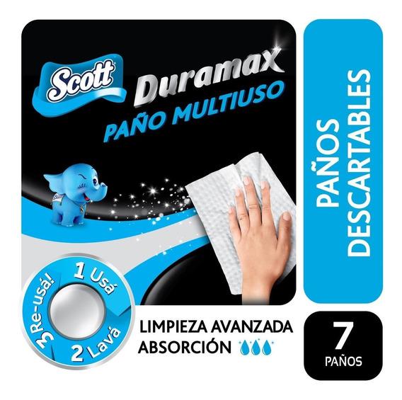 Scott Duramax 7 Paños Reutilizables Grandes Multiuso