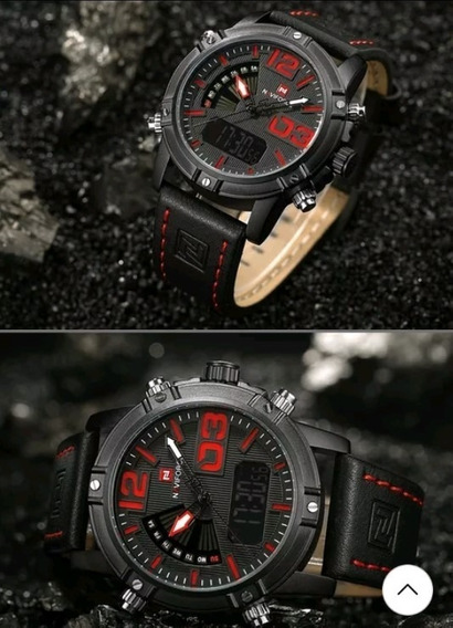 Relógio Naviforce 9095 Original Resistente À Água Na Caixa
