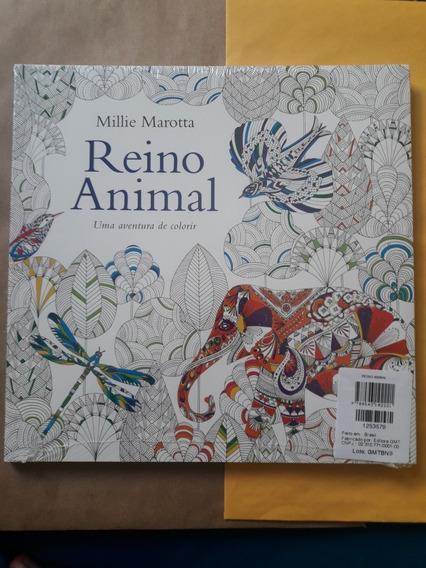 Livro Reino Animal: Uma Aventura De Colorir - Millie Marotta